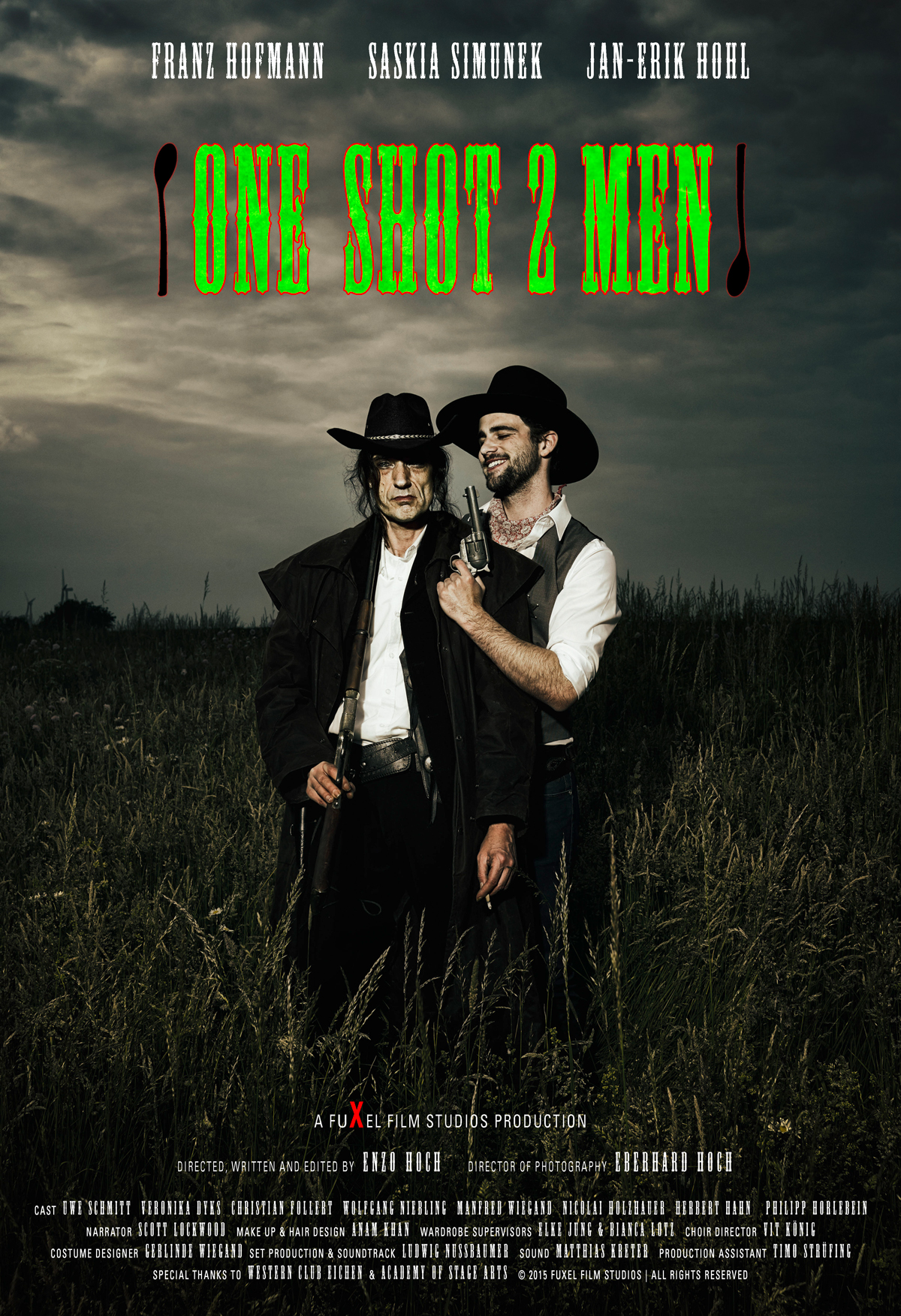 One Shot 2 Men