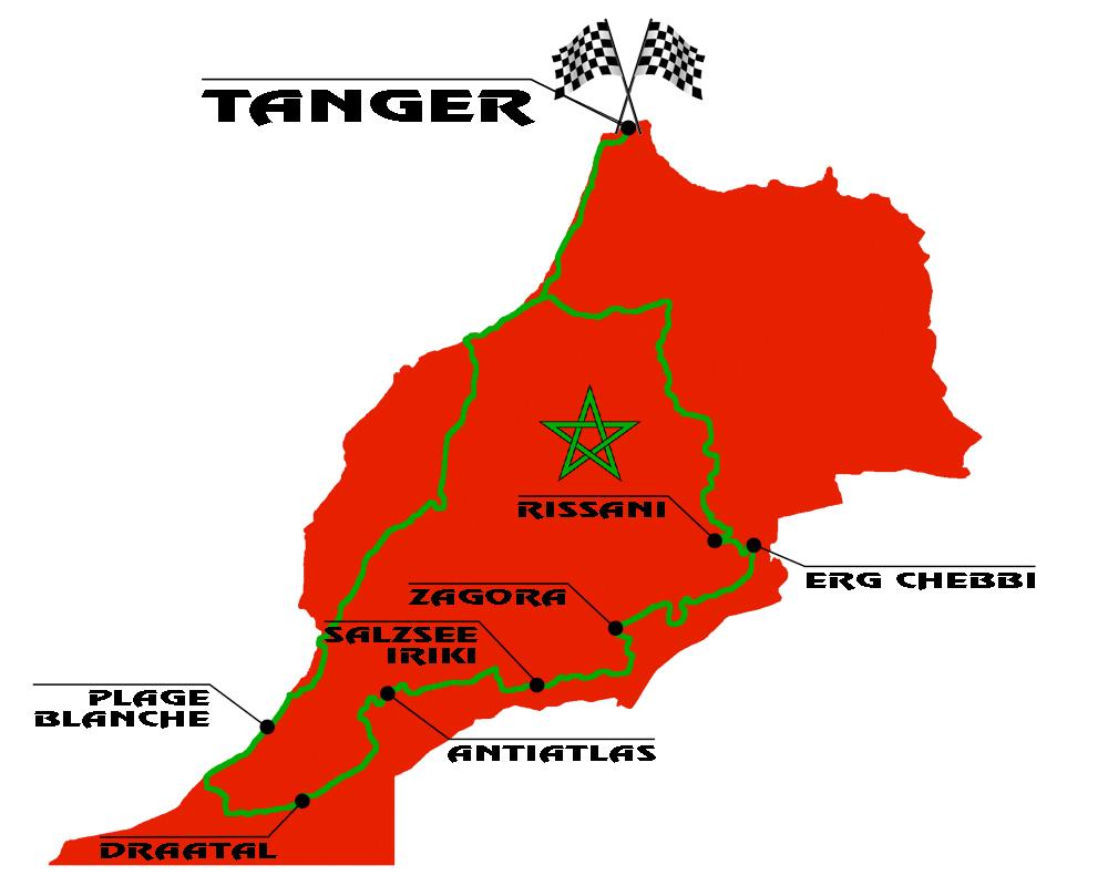 Marokko Offroadtour