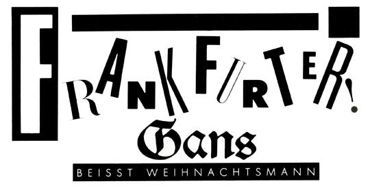 Frankfurter! Gans